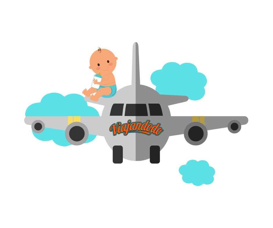 Guía completa para viajar con bebé en avión | Viajandodo